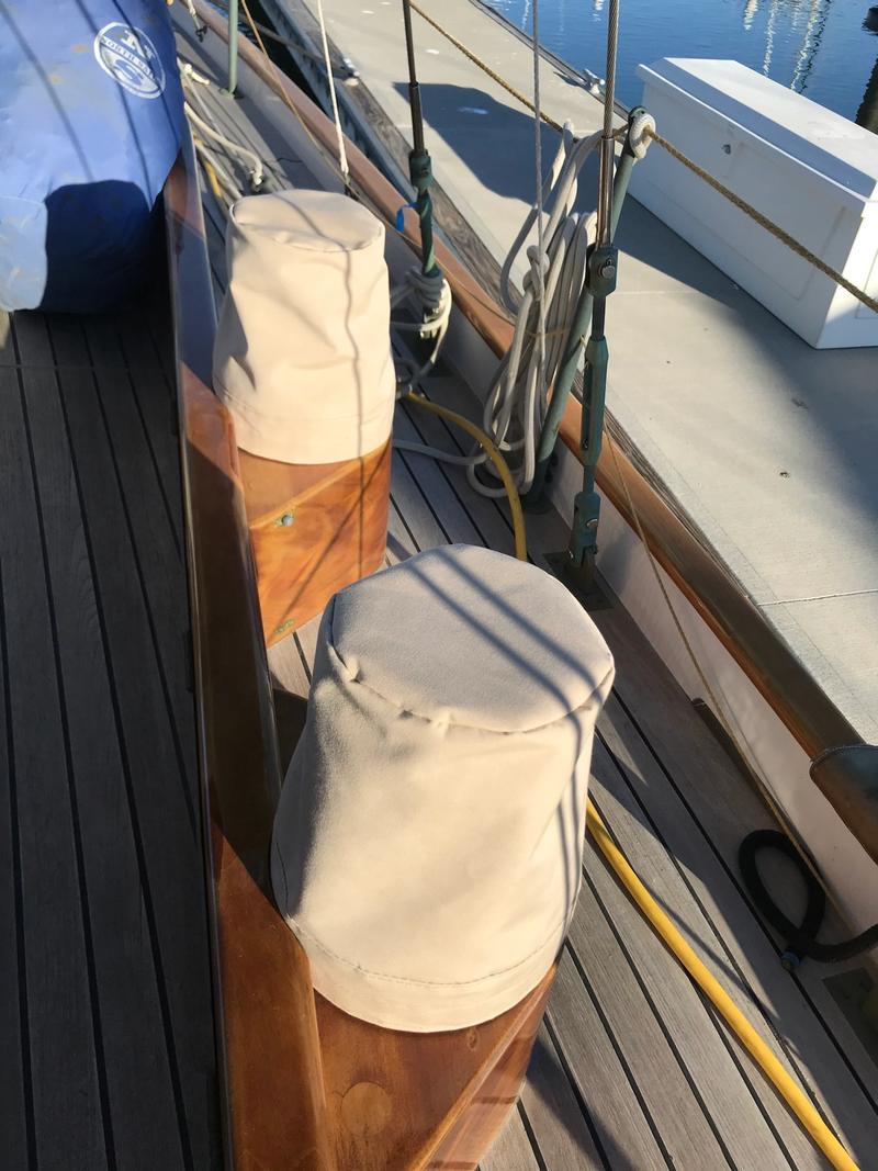 Custom Cockpit Winch Covers