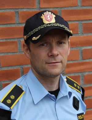 Geir Oustorp er leder for forebyggende i avsnitt i Drammenspolitiet.