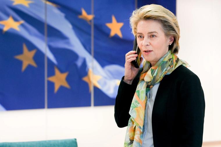 President i Europakommisjonen, Ursula van der Leyen.