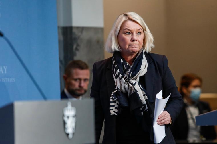 Justisminister Monica Mæland (H)