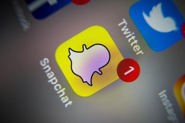 POPULÆRT: Snapchat er en populær tjeneste blant barn og unge. Men det er ikke riktig at syv av ti niåringer bruker bildedelingstjenesten.
