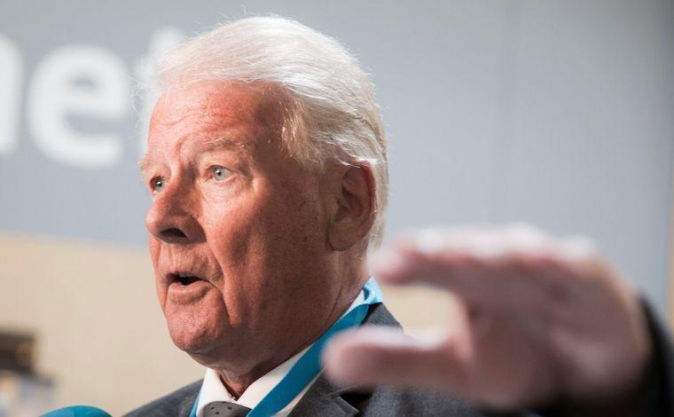 Gruppeleder for Frp i Oslo, Carl I. Hagen.