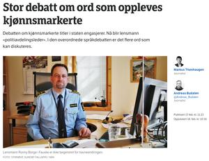 NRK har gjort flere endringer i artikkelen som utløste sterke reaksjoner om bruken av ordet «nordmann».