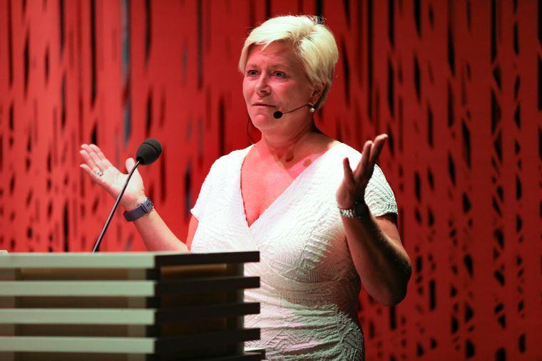 Finansminister Siv Jensen (Frp).