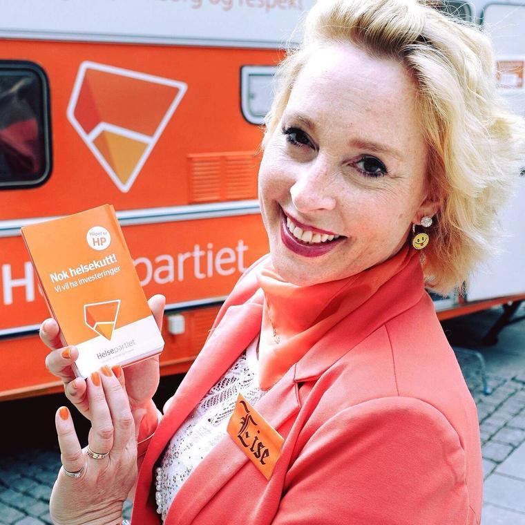Helsepartiets leder Lise Askvik