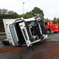 I 2018 veltet et vogntog ved Helsfyr i Oslo. To personer ble skadd.