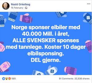 Foto: Skjermdump / Facebook