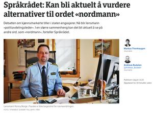 Heller ikke den andre tittelen NRK prøvde seg på, var det dekning for.