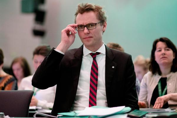 Sp-nestleder Ola Borten Moe på Senterpartiets landsmøte.