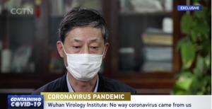 Yuan Zhiming, direktør for Wuhan Institute of Virology, avviser at koronaviruset kommer fra laboratoriet.