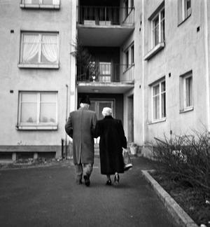 Statlig alderstrygd ble vedtatt i 1936. Da hadde mange kommuner allerede innført kommunal alderstrygd.