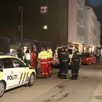 Oktober 2017: Politi og ambulansepersonell på Holmlia i Oslo i forbindelse med en skyteepisode.