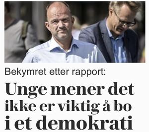 Slik så artikkelen ut på VG.no fredag ettermiddag.