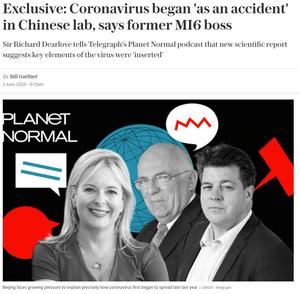 NRK utelot flere sentrale opplysninger fra en artikkel i The Telegraph.