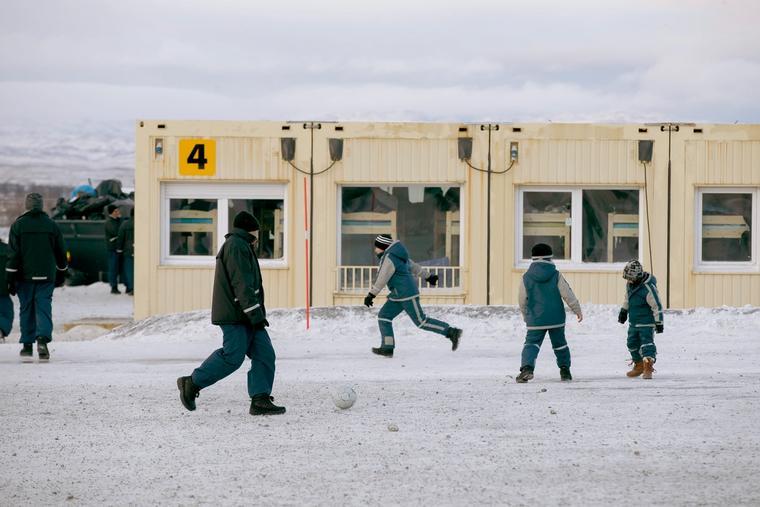 Ankomstsenteret for flyktninger i Kirkenes.