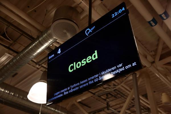 Rygge sivile lufthavn stengt