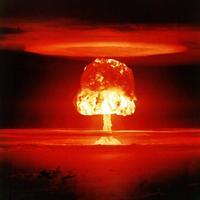 Bildet viser «Castle Romeo» - en atomprøvesprengning i USA 27. mars 1954.