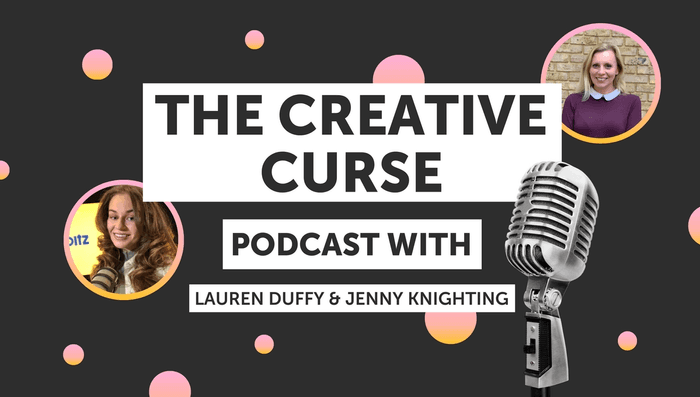 Talking with Lauren Duffy on The Creative Curse podcast, Jenny Knighting discusses the ongoing impact the pandemic has had on marketing and what advice she'd give to young creatives trying to start their careers during Covid-19.
