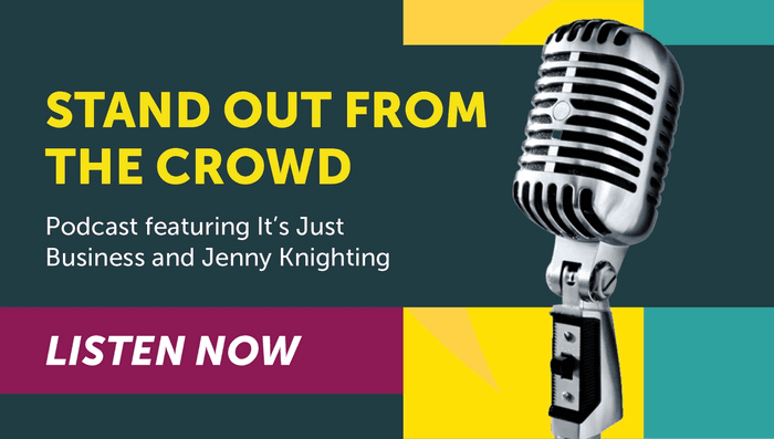 How do I convert leads into business? How do I inspire and influence my audience? How do I connect and engage with potential clients and customers? In Dana Dowdell's and Russ Harlow's It's Just Business Podcast, Nutcracker Agency's Founder & CEO Jenny Knighting discusses marketing, branding, and standing out from the crowd in a sea of noise and choices.