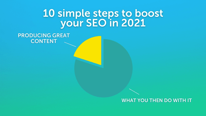 Content marketing and search engine optimisation needn't be a minefield. Here are 10 simple steps to boost your SEO and get your brand out there in 2021.