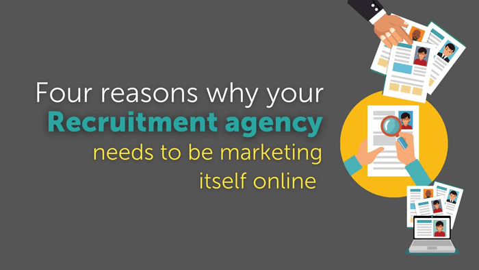 4 reasons why your staffing or recruitment agency needs to be marketing itself online to attract the best clients and candidates. With three tips that will help you to stand out in a crowded market.