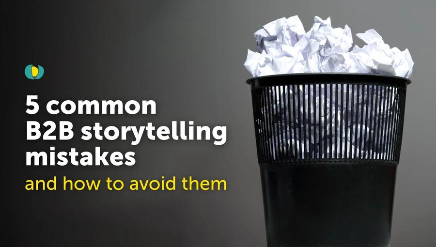 In this blog, we explore some of the biggest B2B storytelling mistakes and explain how B2B brands can do better.
