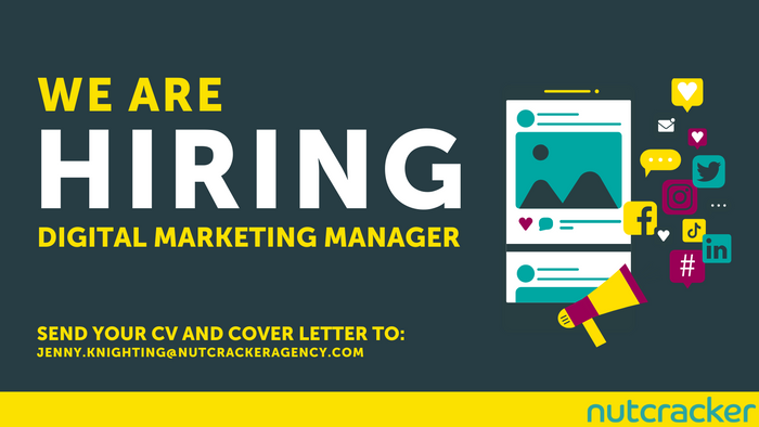Nutcracker are looking for a Digital Marketing Manager to become part of our award-winning team.