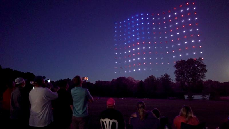 4th of July with Firefly Drone Shows