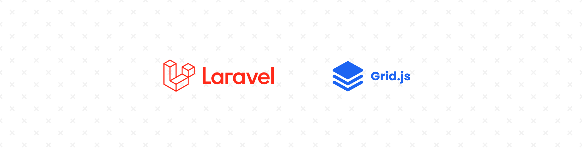 Laravel datatable with Grid.js