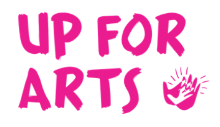 Up for arts logo