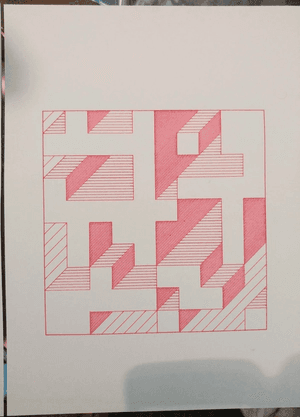 square made up of 100 squares