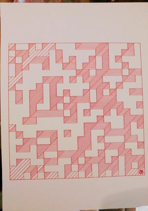lots of blocks drawn a big square
