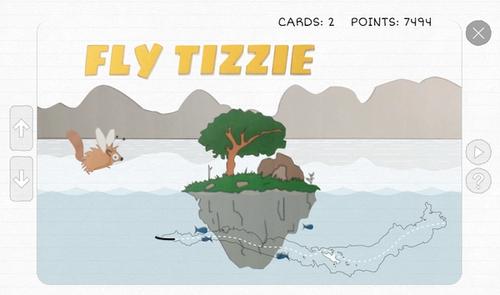 Game screenshot showing user made artwork