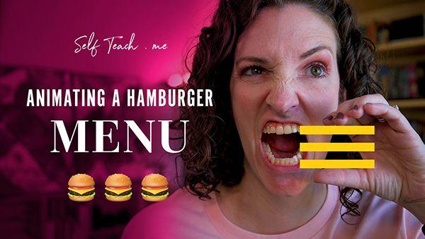 Animating a Hamburger Menu