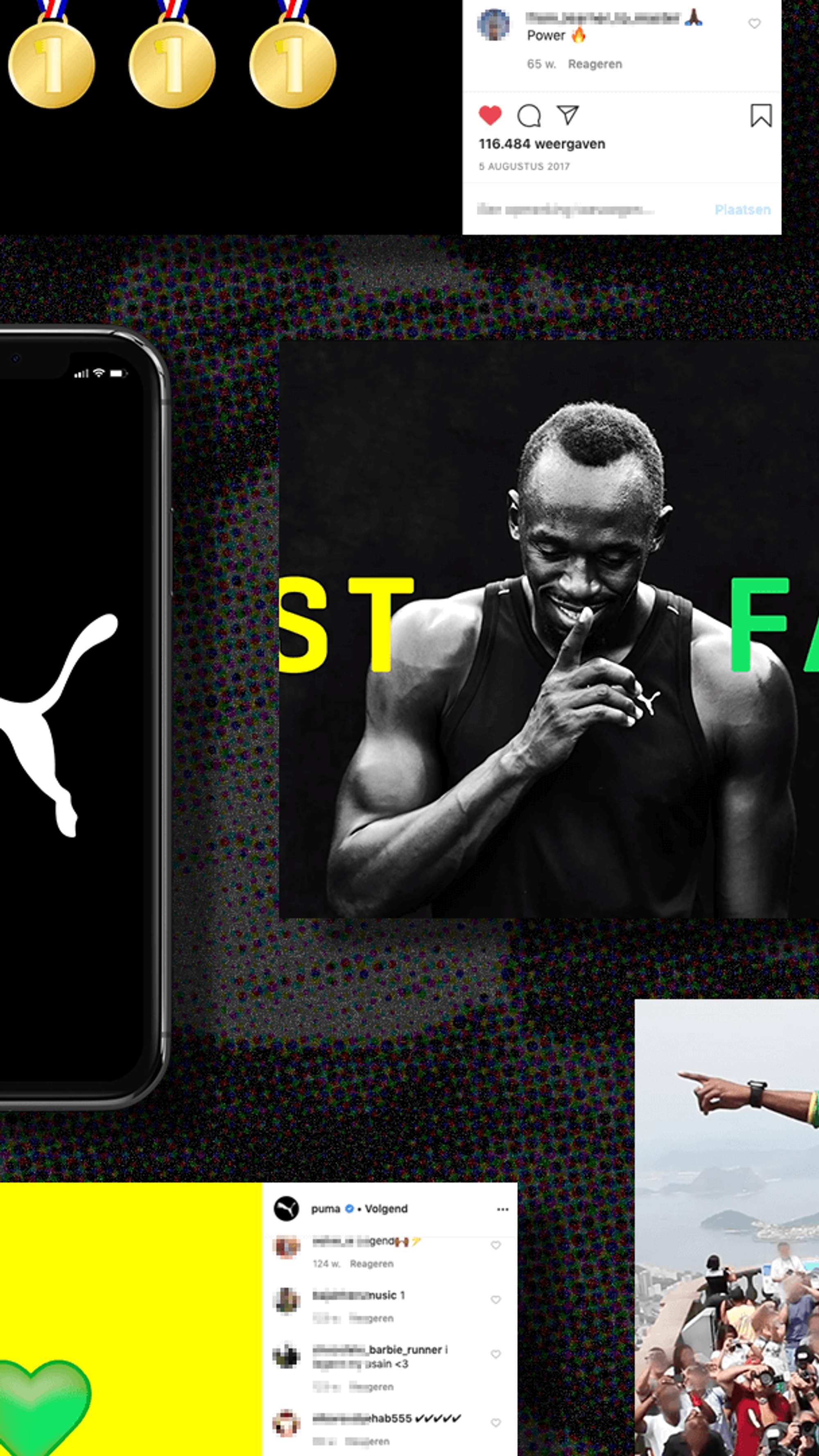 Usain Bolt Legend PUMA