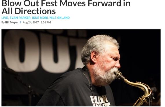 Blow Out! i Downbeat Magazine