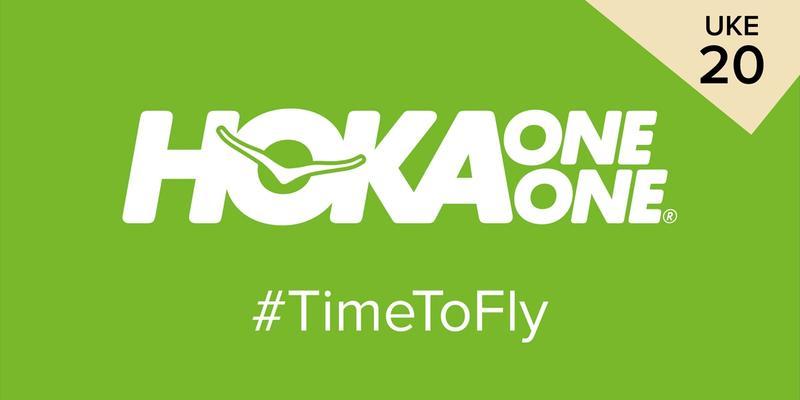 Hoka Time to fly