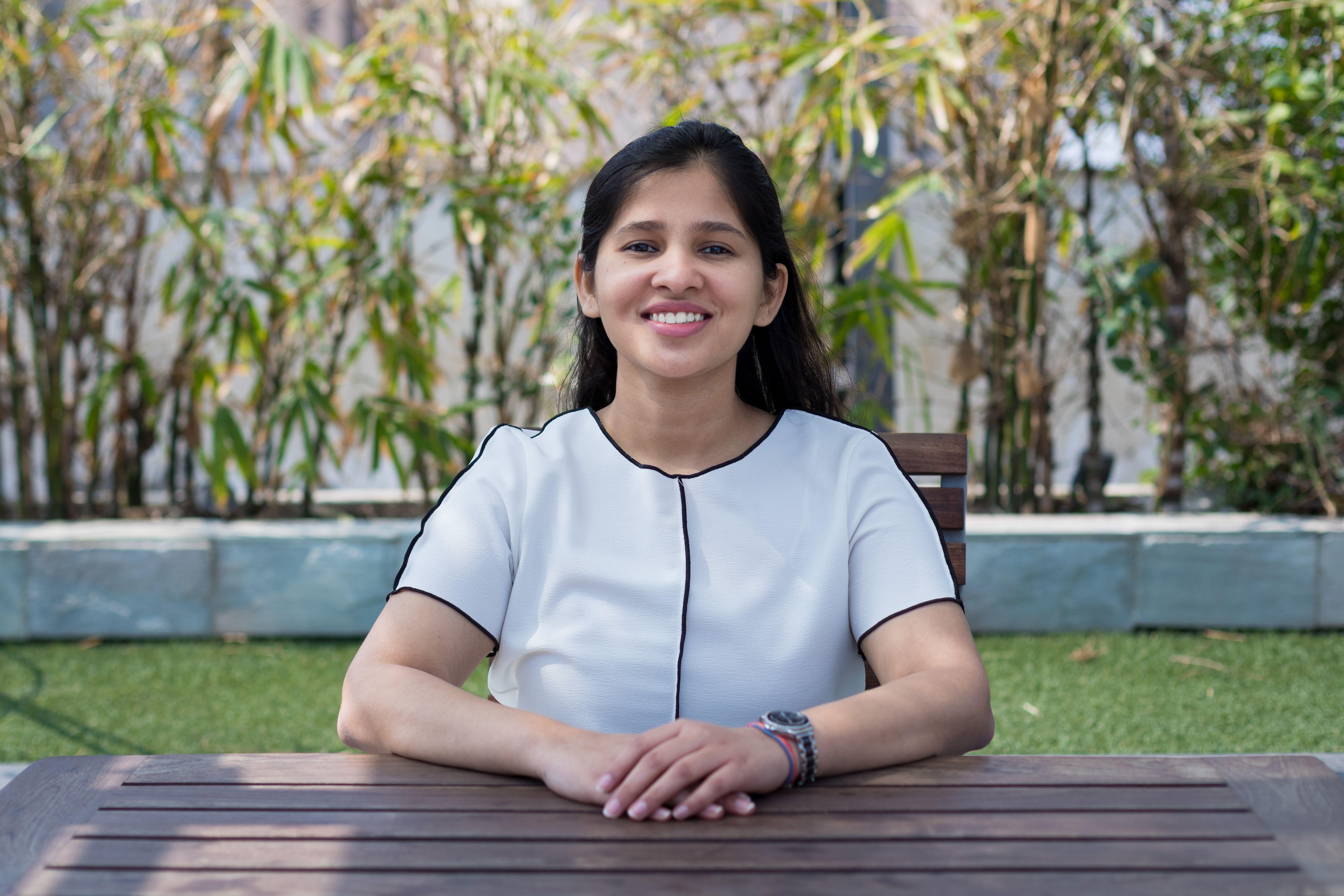 A photo of Sukriti Jiwarajka