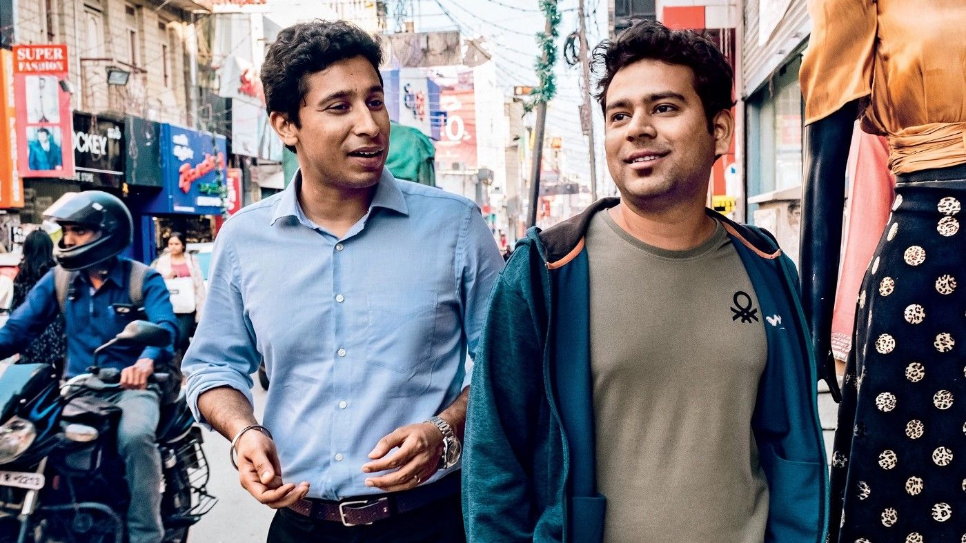 Meesho founders Vidit Aatrey and Sanjeev Barnwal