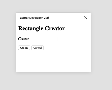 A screenshot of our plugin UI at this point.