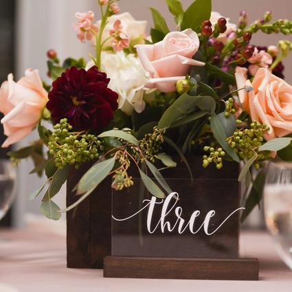 Bruno Wedding Flower Arrangement Examples