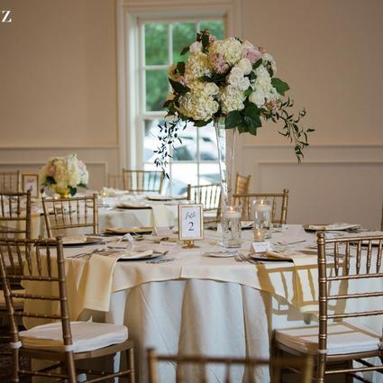 Davidson Wedding Flower Arrangement Examples