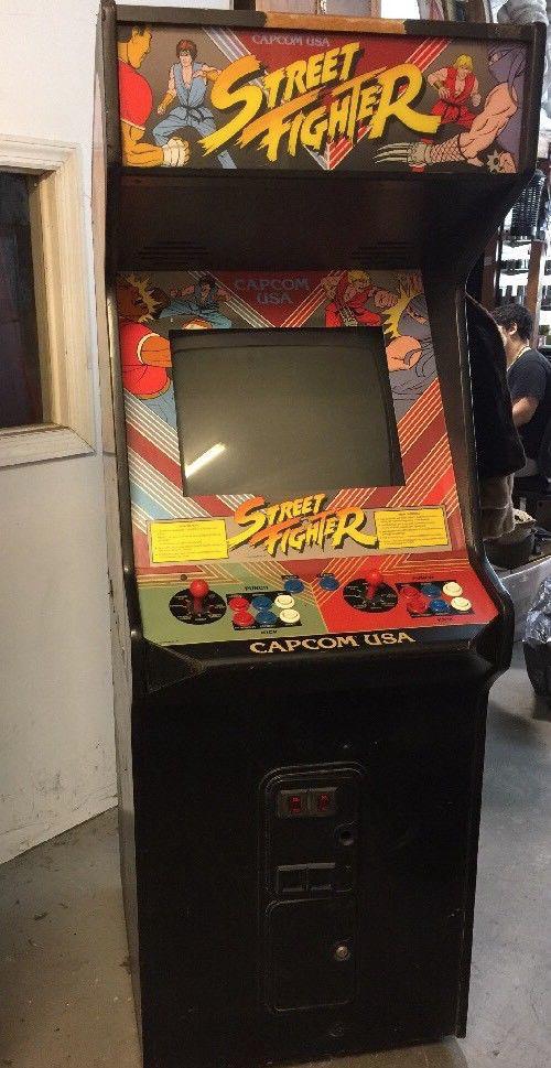 Сейчас автоматы с оригинальной Street Fighter продают на eBay за $5000