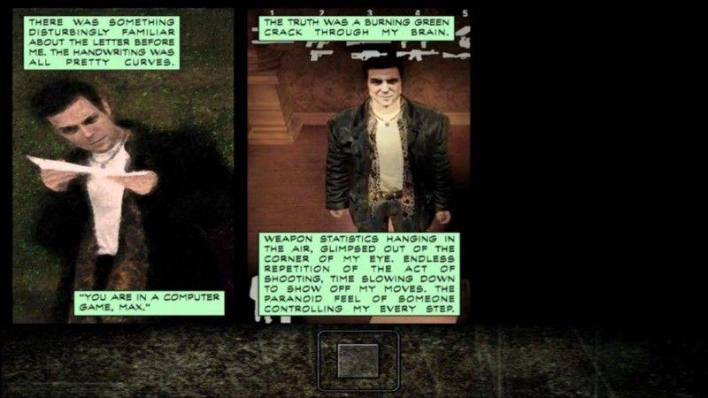 Макс Пейн воображает, что он — герой видеоигры.