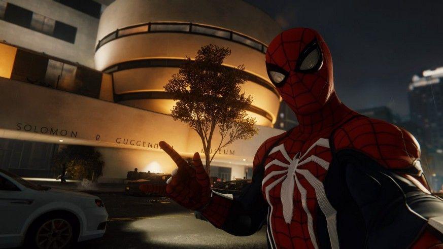 Музей Соломона Гуггенхайма в Marvel's Spider-Man