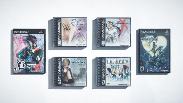 Продукция Square EA охватывала широкий спектр игр: от популярных хитов, таких как Kingdom Hearts, до разочаровавшей критиков The Bouncer и любимой фанатами Xenogears. | Фотограф: Джонатан Кастильо.