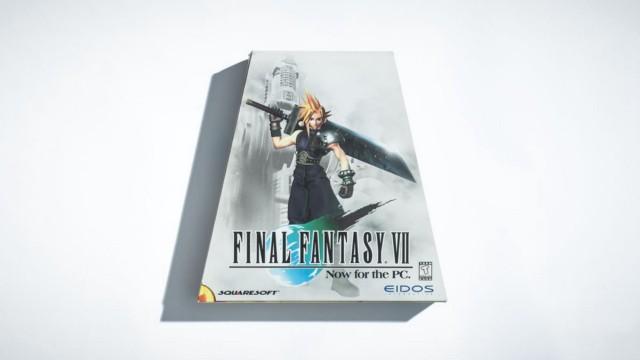 В 90-х издатели игр часто помещали компьютерные игры в специальные коробки, чтобы они выделялись в магазинах. Для Final Fantasy 7 компания Eidos выбрала этот дизайн в форме трапеции. | Фотограф: Джонатан Кастильо.