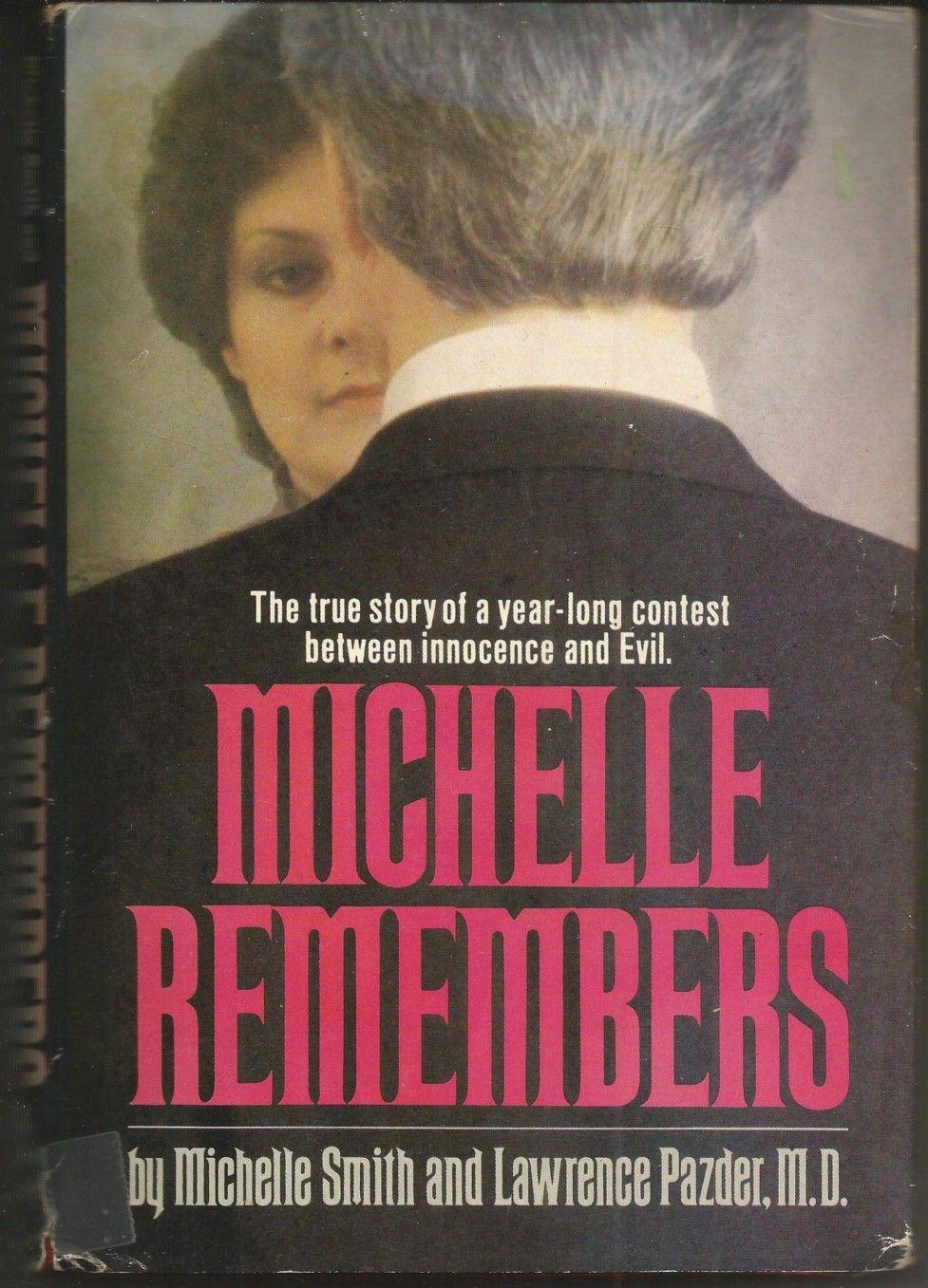 Обложка книги Michelle Remembers. Тогда Мишель еще носила фамилию Смит.