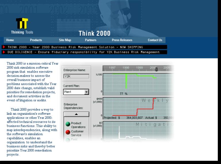 Промо-сайт Think 2000. (59)