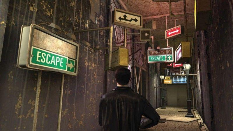 Max Payne 2, заигрывающая со всеми возможными клише жанра, имеет уровень под названием Linear Sequence of Scares.